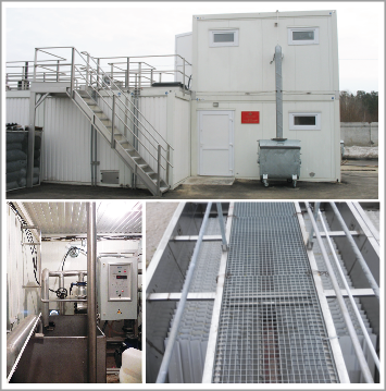 BIOKOMS sewage treatment facilities of block-modular type
